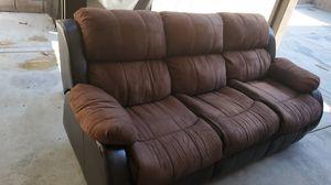 Microfiber Sofa and love seat for Sale in Fontana, CA