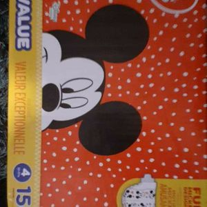 Size 4 Diapers 156c for Sale in Fresno, CA