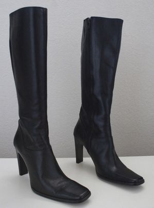 Charles David Black Knee High Boots for Sale in Winchester, CA