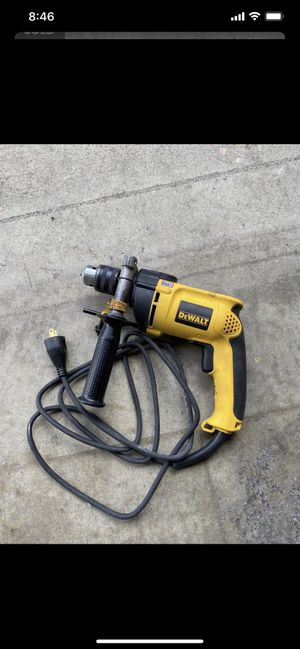 DEWALT 1/2 in. Variable Speed Reversible Hammer Drill for Sale in Whittier, CA