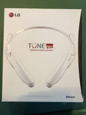 LG TONE PRO BLUETOOTH HEADSET for Sale in San Jose, CA