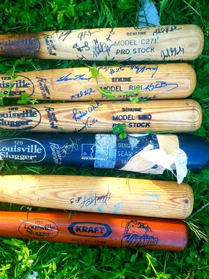 Autographed Vintage Wooden Baseball Bats for Sale in Fairfax, VA