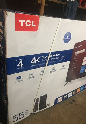 "55"" TCL ROKU SMART TV for Sale in Dearborn, MI"