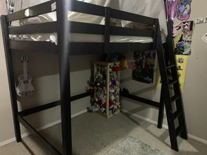 Full size loft bed and frame for Sale in North Bend, WA