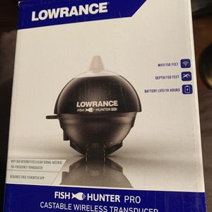 Lowrance Fish Hunter Finder Pro (New) for Sale in San Antonio, TX