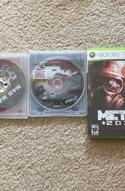 Xbox 360/ Ps2/ PS4 for Sale in Puyallup,  WA
