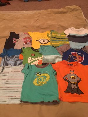 Camisas manga larga 11 y 10 manga corta 2t todas for Sale in Centreville, VA