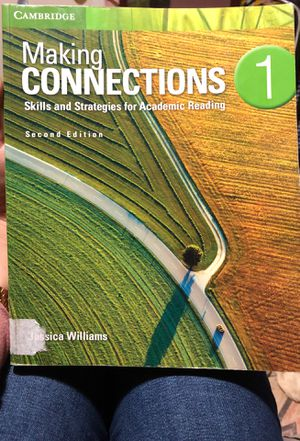 Making connections 1, Second Edition for Sale in Wayne, NJ