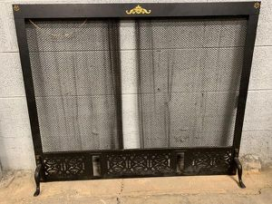 Metal Fireplace Cover Guard for Sale in High Point, NC