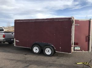 Enclosed cargo trailer fits 4 seater Polaris rzr for Sale in Eagar, AZ