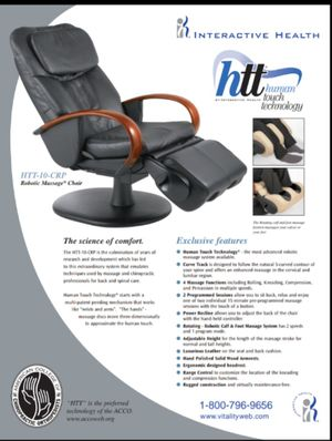 HT Massage Chair for Sale in Gray, TN