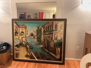 Large Framed Canvas art for Sale in Washington, DC