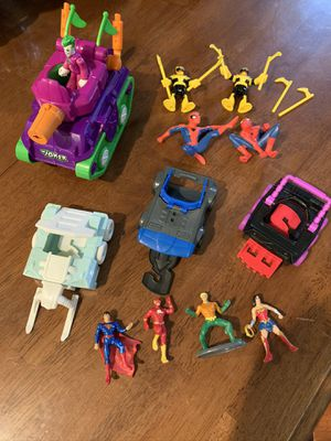 Imaginext and more DC superheroes lot for Sale in San Antonio, TX
