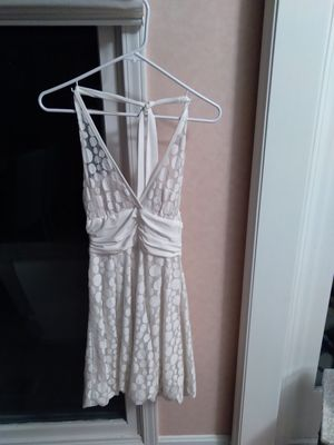 WHITE HALTER DRESS - SIZE SMALL for Sale in WARRENSVL HTS, OH
