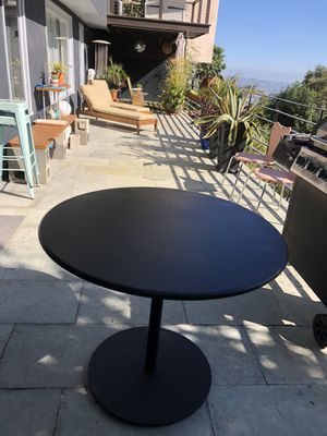 Modern Round Outdoor Table for Sale in Los Angeles, CA