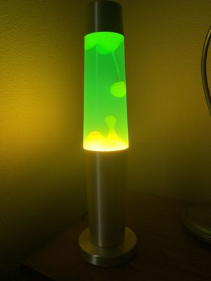 """18"""" Green and Yellow Lava Lamp for Sale in San Antonio, TX"""