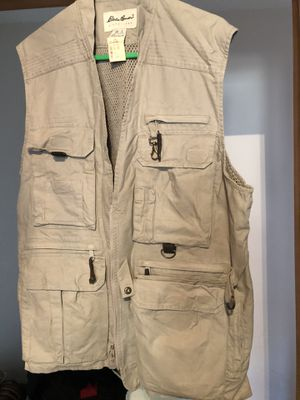 Eddie Bauer Fly Fishing vest for Sale in Englewood, CO