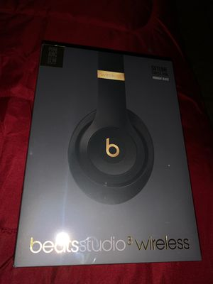 Beats by Dr. Dre - Beats Studio³ Wireless Noise Canceling Headphones - Beats Skyline Collection - Midnight Black for Sale in Philadelphia, PA