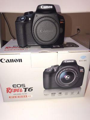 Canon Rebel T6 for Sale in Henderson, NV