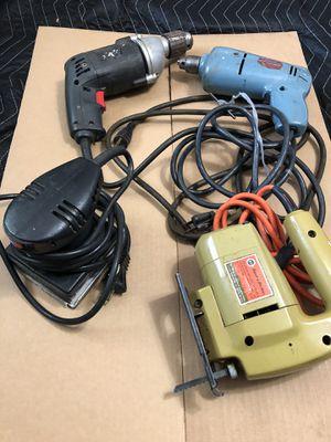 Various Power Tools / Drills / Sander & Jig Saw for Sale in Greer, SC