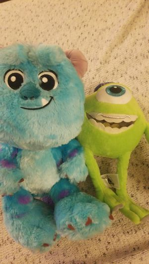 Disney's Monster Inc Plushies for Sale in Irvine, CA