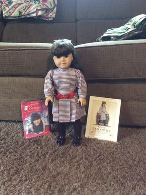 American girl doll Samantha in great condition with book and new video for Sale in Orange, CA