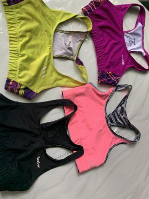 Sports bra girls size 10-12 some reebok for Sale in Grand Prairie, TX