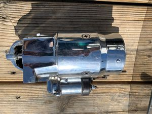 General motors. Big block/small black chrome high torque starter for Sale in Las Vegas, NV
