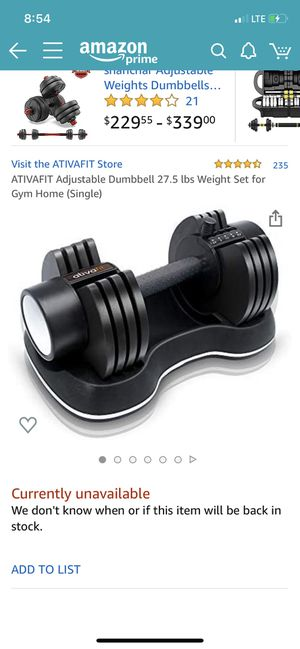 Adjustable weights for Sale in Scottsdale, AZ