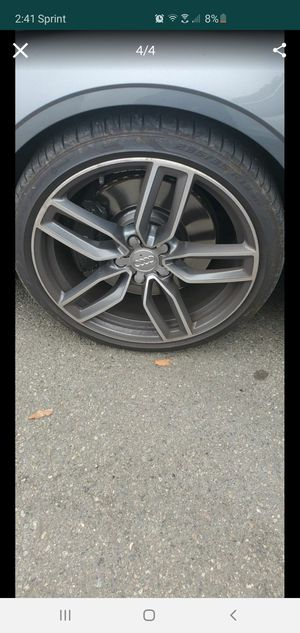 AUDI WHEELS.. ONLY WHEELS, TIRES NOT INCLUDED for Sale in Tacoma, WA