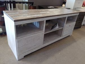 2 Tone Wood Tv Stand for Sale in Phoenix, AZ
