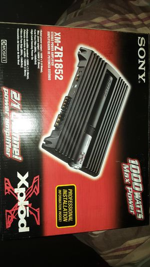 Brand New 1000 watt CEA Compliant amp for Sale in Maple Heights, OH