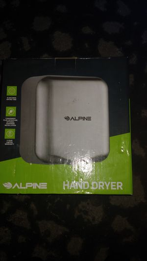 Alpine touchless hand dryer for Sale in Beaverton, OR