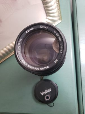 Vivitar MF zoom lens for Olympus 75-205mm f/3.5-4.5 for Sale in Murrysville, PA
