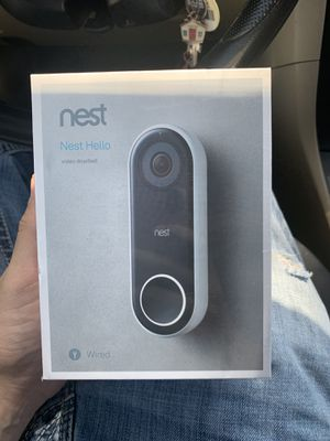 Nest hello video doorbell for Sale in Brentwood, CA
