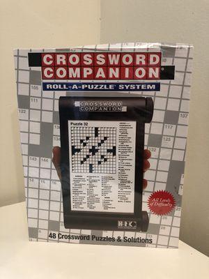 Crossword Companion Roll a Puzzle System Board Game for Sale in Diamond Bar, CA