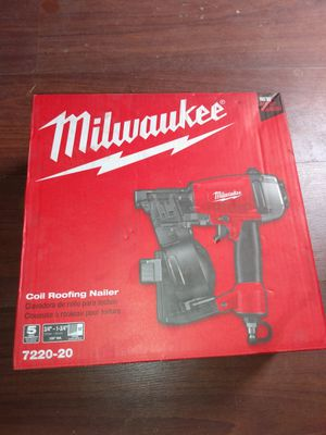 Milwaukee coil roofing nailer for Sale in Vista, CA