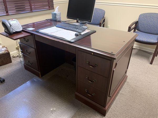 Desk & Credenza Set.