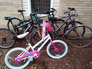 Bikes for minor repair or parts 40.00 for Sale in Nashville, TN