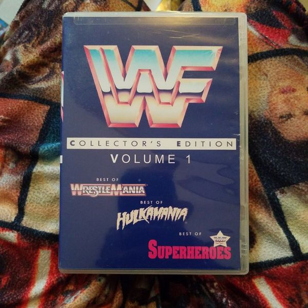 Wwf Collector's Edition Volume One 3 Dvds
