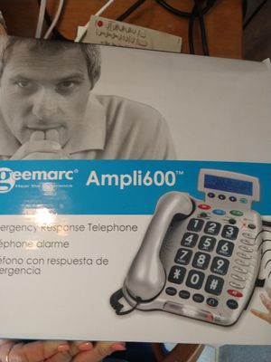 Emergency, senior amplified phone for Sale in East New Market, MD