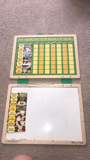 My responsibility chart for kids for Sale in Murfreesboro, TN