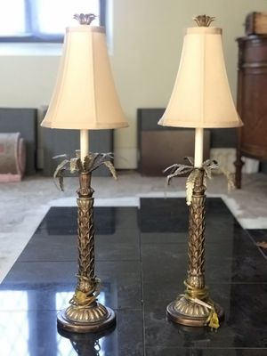 Palm tree lamps for Sale in Columbus, OH