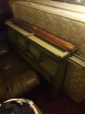 Sealy full size bed and frame with headboard for Sale in Old Forge, PA