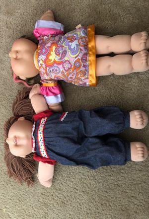 Two cabbage patch kids original dolls for Sale in North Las Vegas, NV