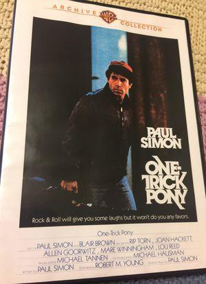 Paul Simon One Trick Pony Movie DVD LIKE NEW for Sale in Phoenix, AZ