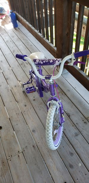 Kids bike with training wheels like new for Sale in Lincoln, NE