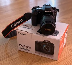Canon EOS 80D for Sale in San Jose, CA