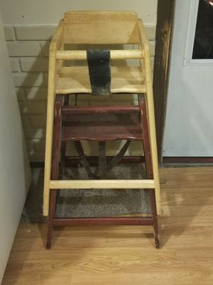 2 wooden high chairs for Sale in Beaver, PA