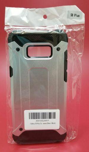 Samsung Galaxy S8 Plus Silver Dust Plug Case for Sale in San Diego, CA